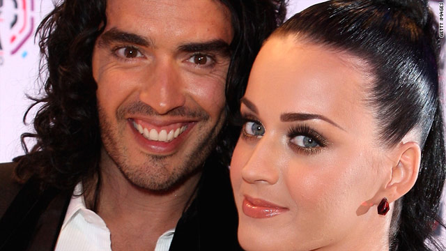 Russell Brand posts bare-face photo of Katy Perry