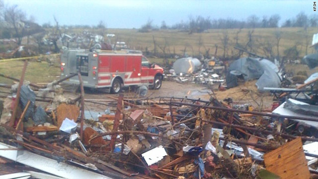 Storms kill 6 in Arkansas, Missouri