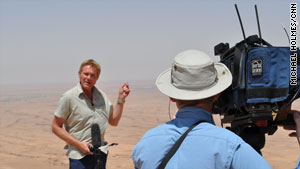 Michael Holmes, a CNN International correspondent and anchor, reports on the conflict in western Libya.