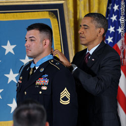 Army Ranger receives Medal of Honor for heroics