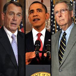 GOP leaders claim debt deal close; Dems not so sure