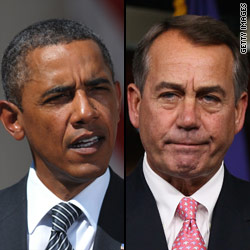 White House moves jobs speech after Boehner objects