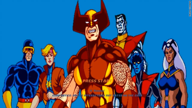 "Revisit your misspent adolescence with a conversion of the popular side-scrolling 1992 game, ""X-Men Arcade."""