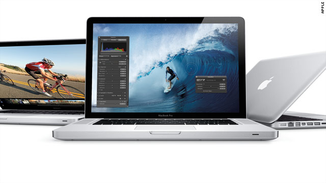 Apple unveiled a new line of MacBook Pro laptops on Thursday. They start at $1,200.