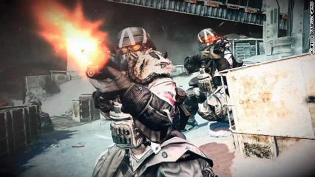 """First-person shooter game """"Killzone 3""""  is a wild, rolling firefight set across many different terrains."""