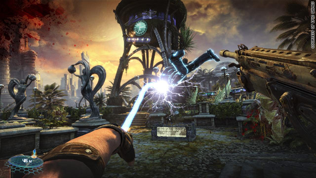 """Bulletstorm"" features a new game play style that awards points for killing enemies in unique ways."
