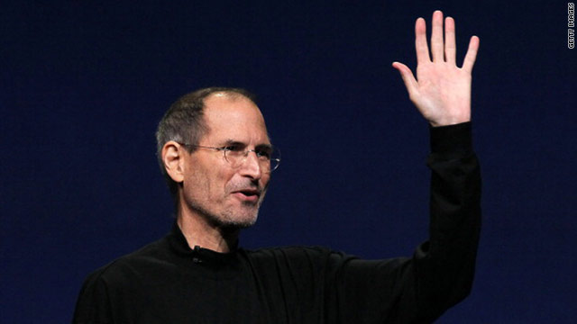 Whatever health concerns prompted Steve Jobs' leave didn't seem to affect his flair Wednesday as an Apple pitchman.