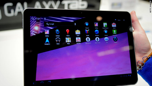 Samsung's mobile VP said they will have to improve parts and the price of its 10.1-inch Galaxy Tab to compete with the iPad 2