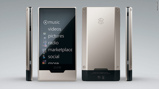 Since their introduction in 2006, the Zune players always played second fiddle -- if that -- to Apple's iPod line.