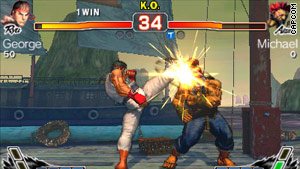 """Super Street Fighter IV"" lets you whip-kick foes in three dimensions."