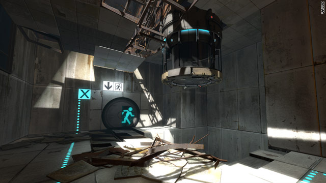 "Welcome back to the test chamber: ""Portal 2"" reunites players with GLaDOS. The cake, however, remains a lie."