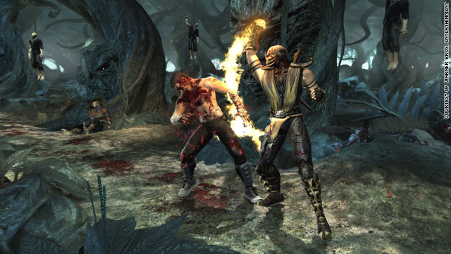 "In the reboot of ""Mortal Kombat,"" the fatalities are even more graphic and gruesome that in past versions."