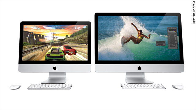 The prices for the new iMacs range from $1,199 to $1,999.
