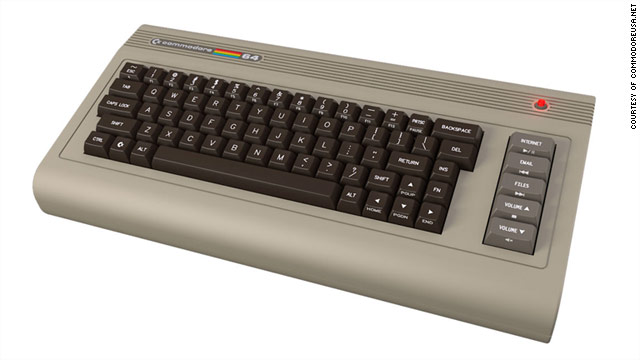 This classic early-model computer, the Commodore 64, will be back in action soon with a nostalgic look but modern components.