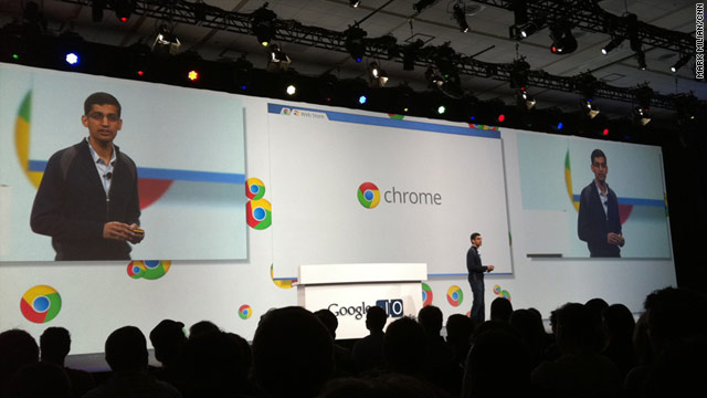 Google announced Wednesday it will rent its Chrome laptops to corporations and schools for as little as $20 a month.