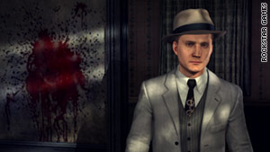 The game puts players in the shoes of LAPD detective Cole Phelps (Staton) as he investigates a string of crimes.