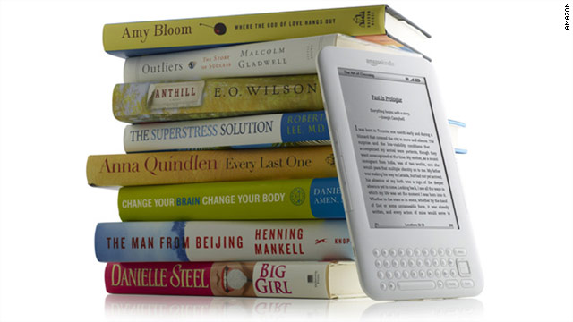 Los libros para Kindle arrasan al papel en Amazon