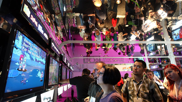 The annual E3 conference in Los Angeles is the gaming industry's top showcase for its newest innovations.
