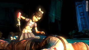 """Bioshock"" players face a moral dilemma: Kill the creepy ""Lilttle Sisters"" or try to save them."