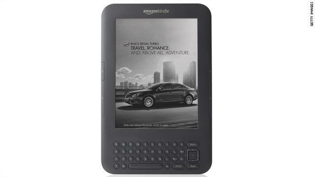 In exchange for a cheaper price, users see ads and special discount offers as the Kindle's screensaver module.