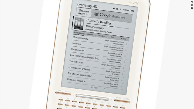 The Story HD has a similar design to the iriver's Story e-reader that includes a QWERTY keyboard.