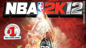 "Larry Bird is featured on one of the covers for the upcoming game, ""NBA 2K12."""