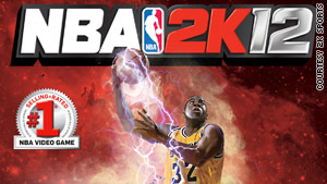 The third cover for &quot;NBA 2K12&quot; puts the spotlight on Magic Johnson.
