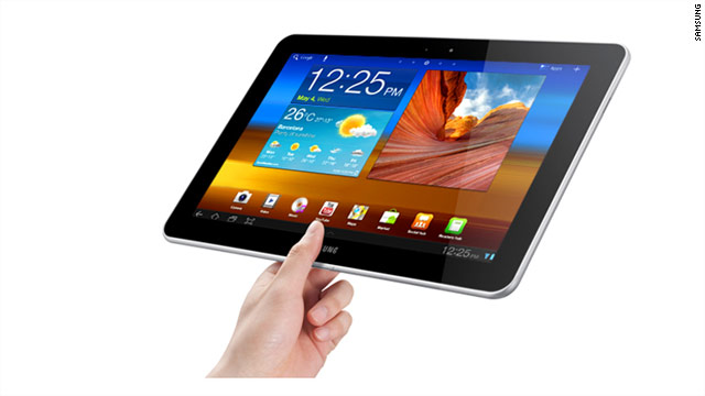 Samsung has been ordered to remove its Galaxy Tab 10.1 touchscreen tablet from stores in Europe.