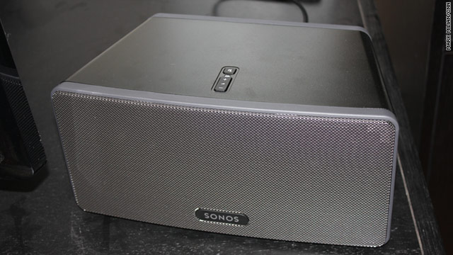 The Sonos Play:3 is the company's most affordable speaker that interfaces with the wireless music system.
