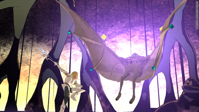 'El Shaddai' on rare video-game turf: the Bible