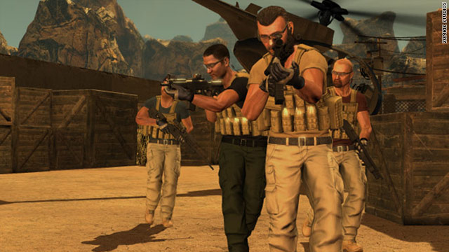 """Blackwater"" was developed by Zombie Studios and overseen by former Navy SEAL and Blackwater founder Erik Prince."