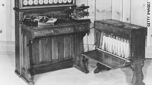 The Census Bureau has a history of developing technology, including funding the first punch-card computer.