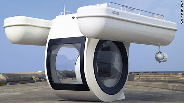Raonhaje plans to sell fleets of these Ego Semi-Submarines to resorts, and single units to individuals and yacht owners.