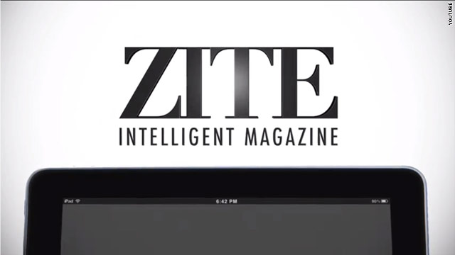 When first opening the app, Zite will immediately begin personalizing your experience.