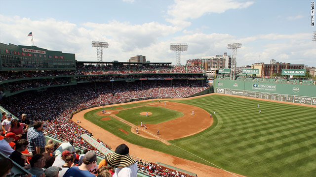 MLB clubs made tech-centric improvements to their ballparks, like Fenway Park, in advance of the 2011 season.