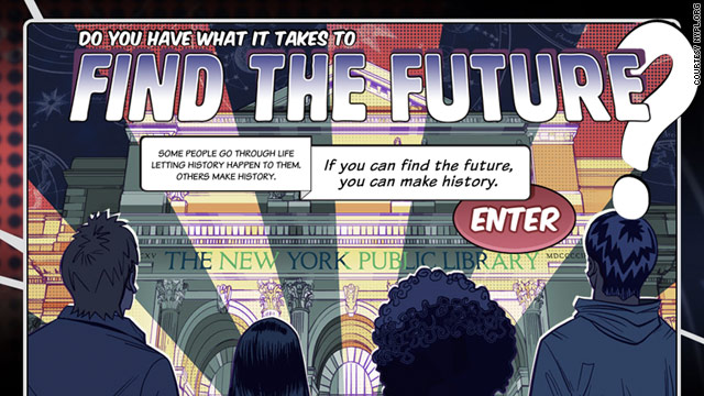 &quot;Find the Future&quot; combines digital and real world challenges at a New York public library.