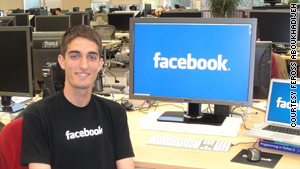 Feross Aboukhadijeh, a Stanford junior, interned at Facebook last summer and is already fielding job offers.