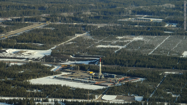 "Instead of leveling the forest, ""in situ"" oil sands developments in Canada's Alberta just cut strips in the land."