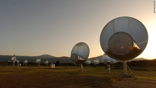 The Allen Telescope Array is a field of dish-like scopes some 300 miles north of San Francisco.