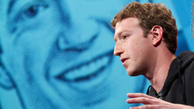 Facebook CEO Mark Zuckerberg speaks at the 2008 All Things Digital Conference. He appeared again last year.