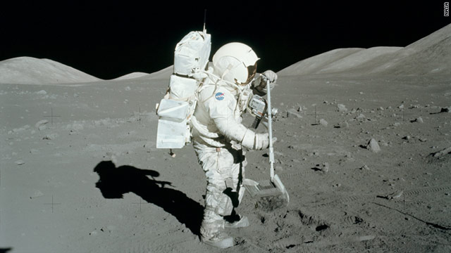 Harrison Schmitt, who was one of the last men to explore the moon, thinks we should go back to mine it for helium-3.