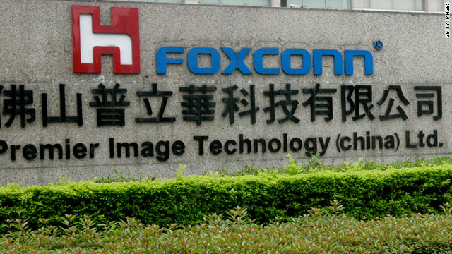 Foxconn currently has 10,000 robots; in the next year, this number should jump to 300,000.