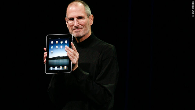 "Some laughed when showman Steve Jobs gushed over the ""magical"" iPad, which would go on to dominate the new tablet market."