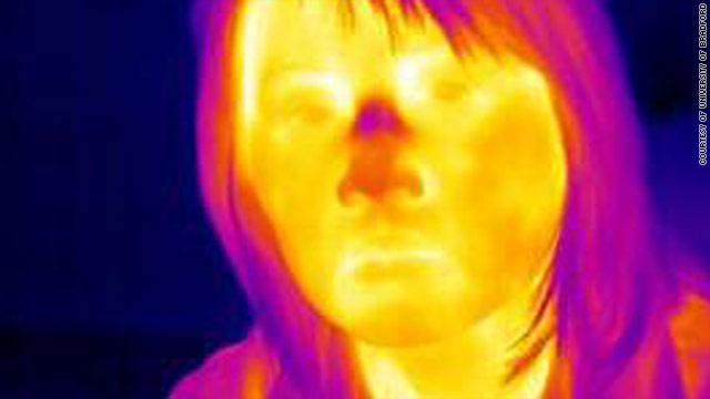 Researchers in the UK are using thermal imaging as part of a new lie detector system which could be used at airports.