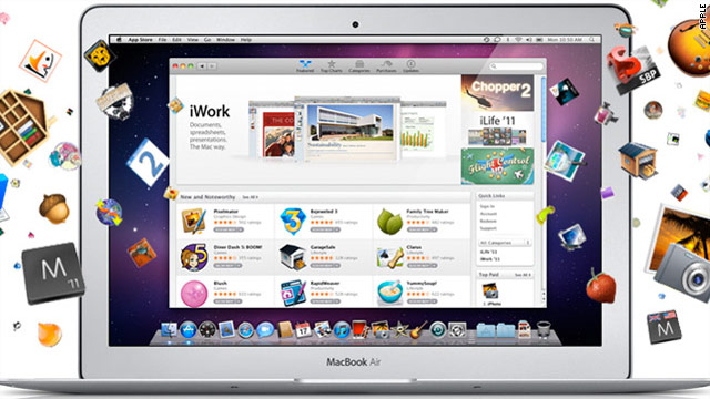 The Mac App Store has launched, freshly stocked with over 1,000 OS X applications.