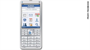 The new app will give feature phone users access to Facebook messages, events, pictures, news feeds, profiles and more.