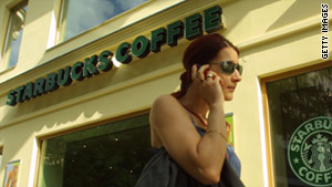 Starbucks this week rolled out a mobile-purchase system that lets customers pay with their phones.