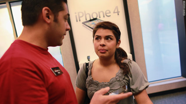 While customers visited Verizon Wireless stores for a look at the new iPhone, other carriers sweetened their deals.