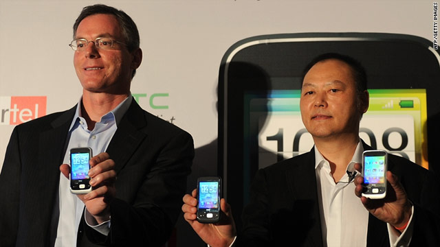 More than 70 handset makers have partnered with Qualcomm on offering Brew feature phones, including HTC.