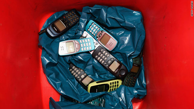 Some stores are encouraging customers to trade in their old phones and other gadgets for purchasing credit.